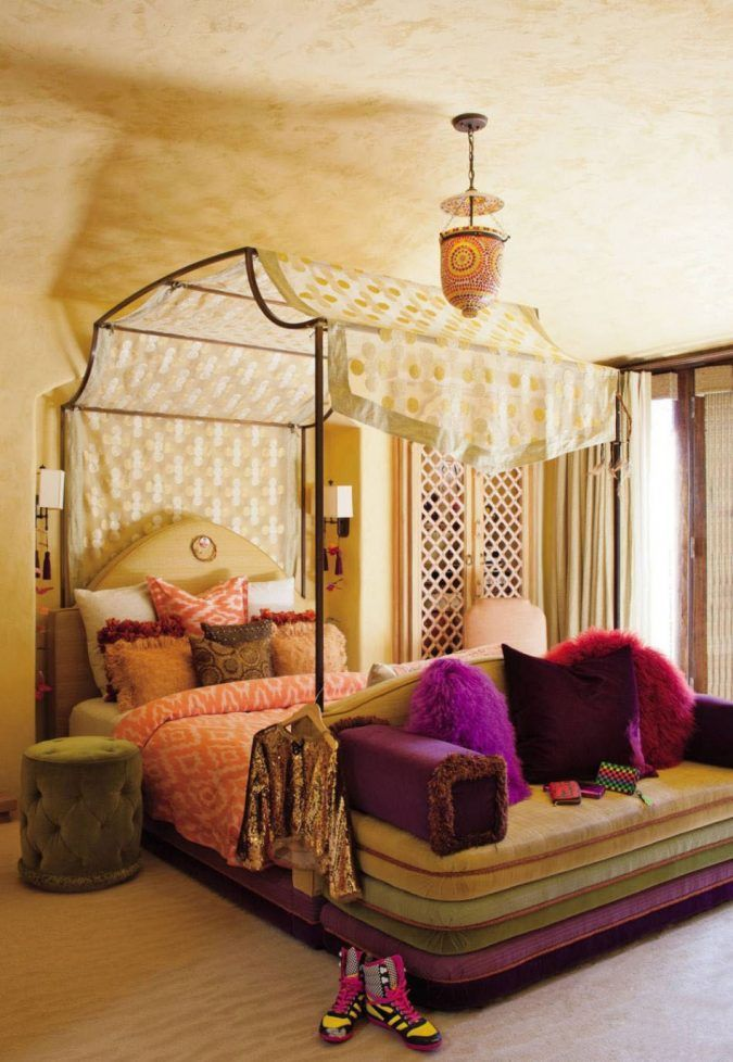 Canopy Beds Through History 35 Bedroom Designs Moroccan