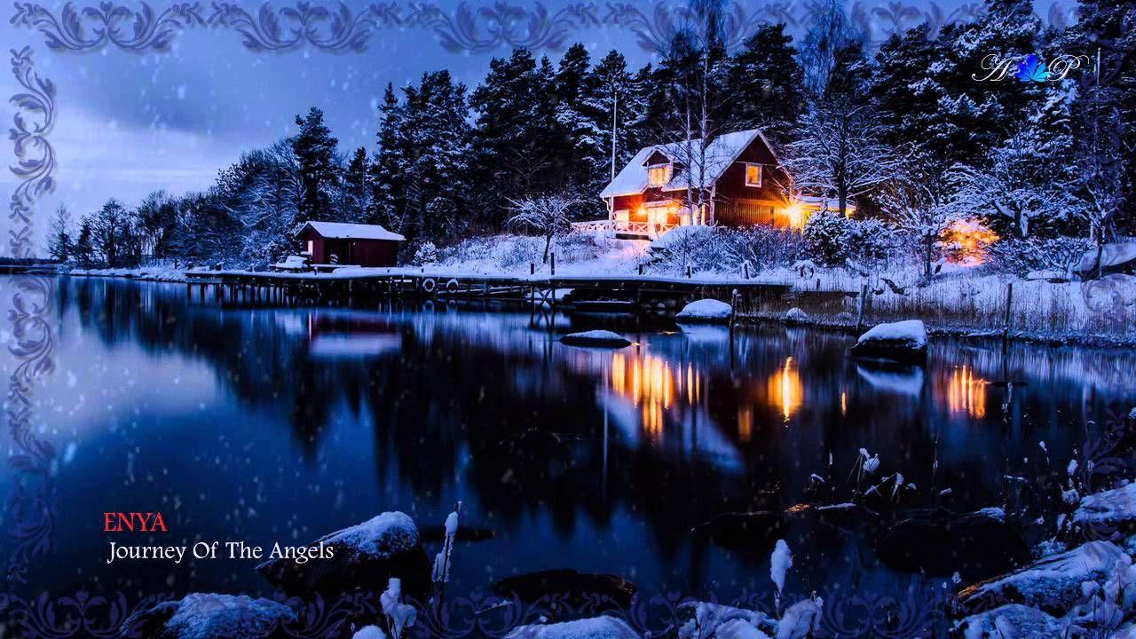 Enya Journey Of The Angels Winter House Winter Scenery Winter Landscape
