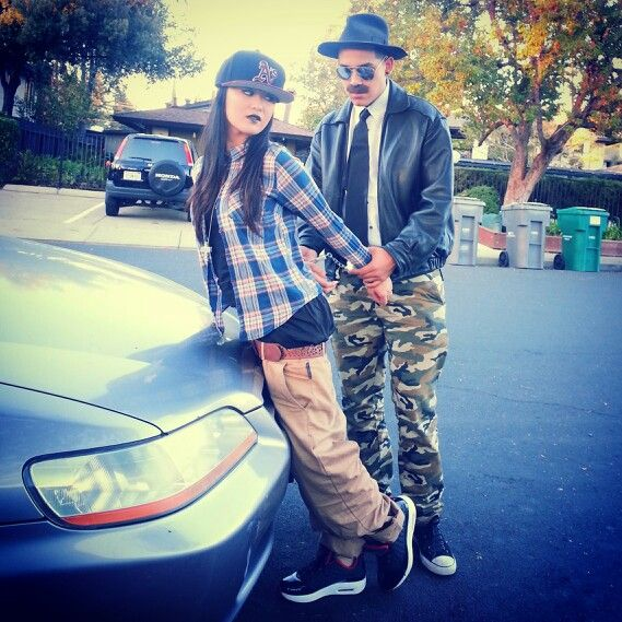 ghetto girl cop boyfriend for our 2013 halloween costume - Girls Cop Halloween Costume