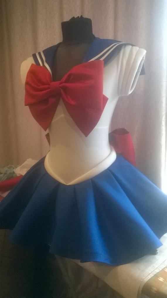 Photo of Sailor Moon Scout uniform fuku anime cosplay costume halloween