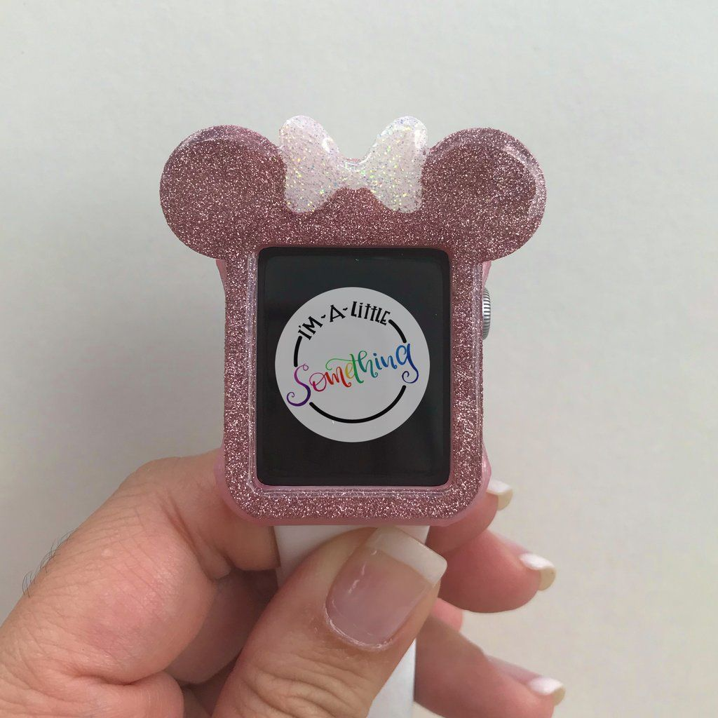 pretty nice 813e4 f591f The Bubblegum Wall Mickey Apple Watch Cover is a Must Have | Disney ...
