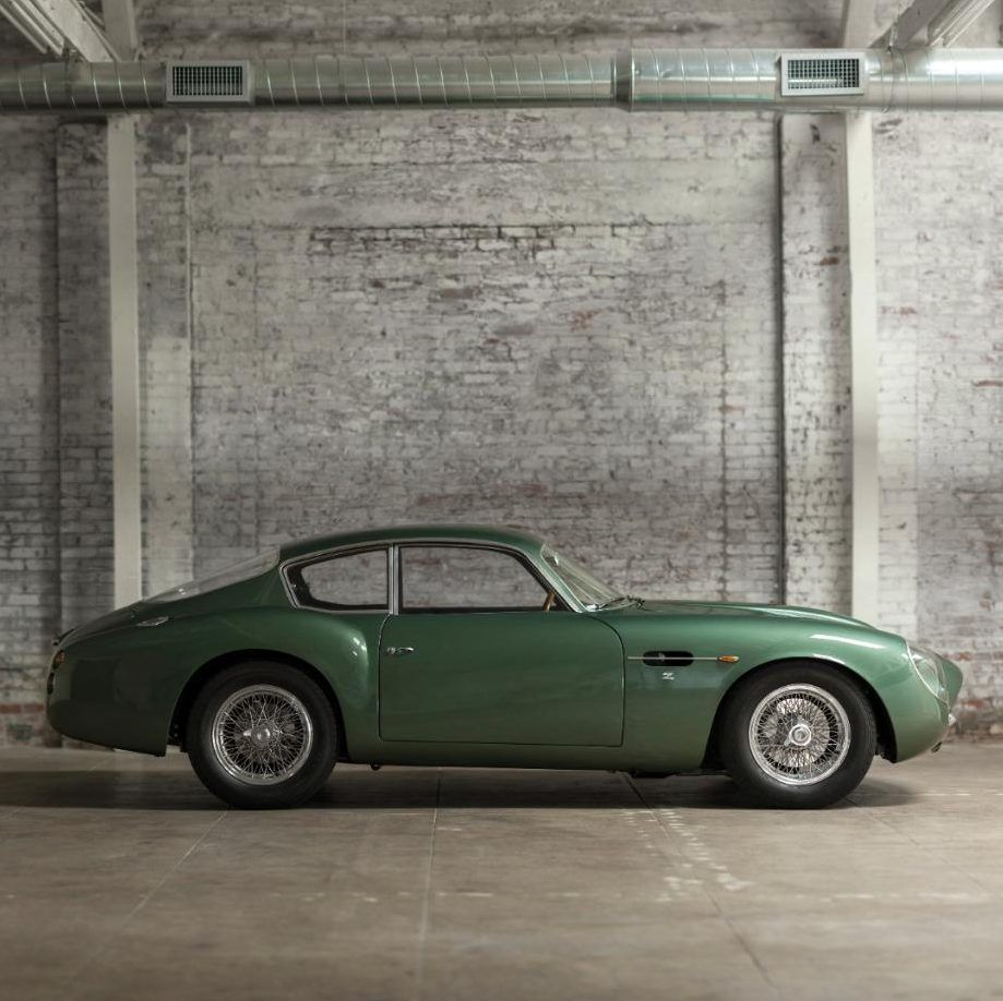 Aston Martin DB4/GT Zagato, side sold at auction for 9.5 million ...