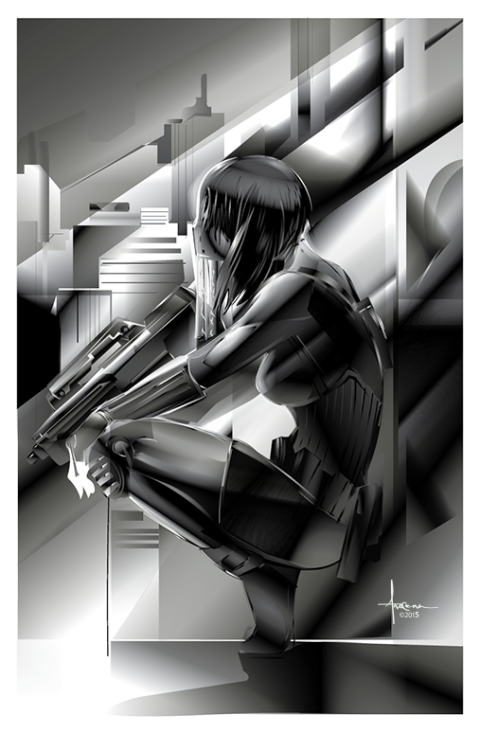 xombiedirge: Ghost in the Shell by Orlando...