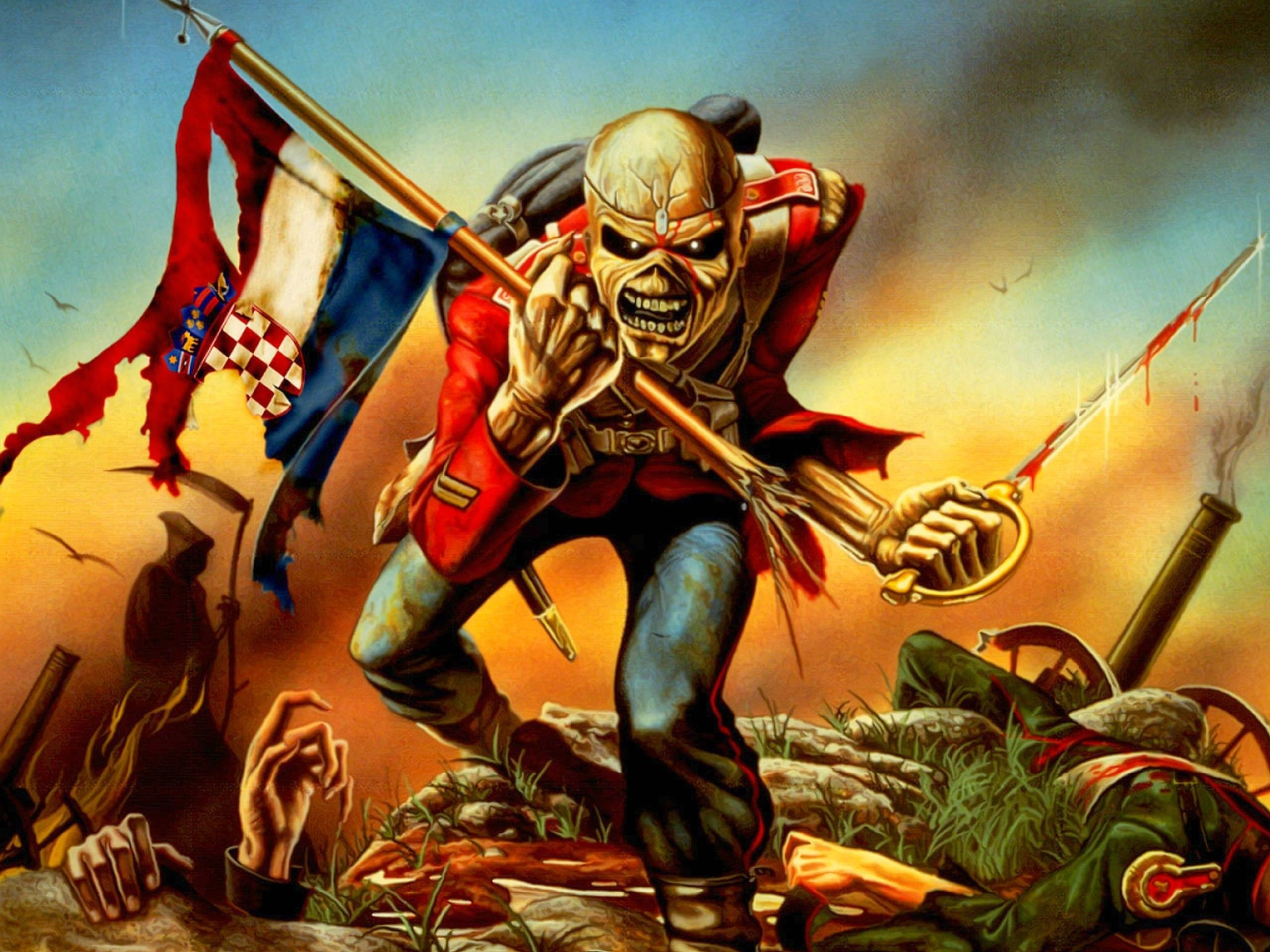 New Iron Maiden Images Free Download Di 2020