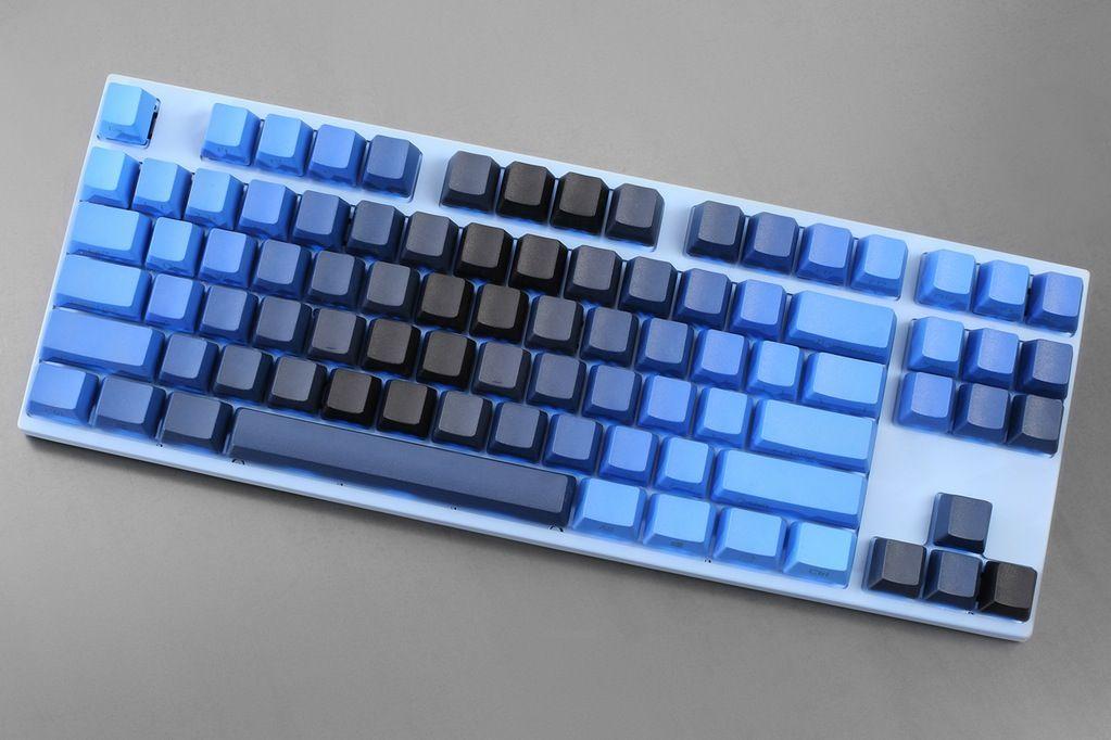 Midnight Gradient Pbt Dye Subbed Keycap Set