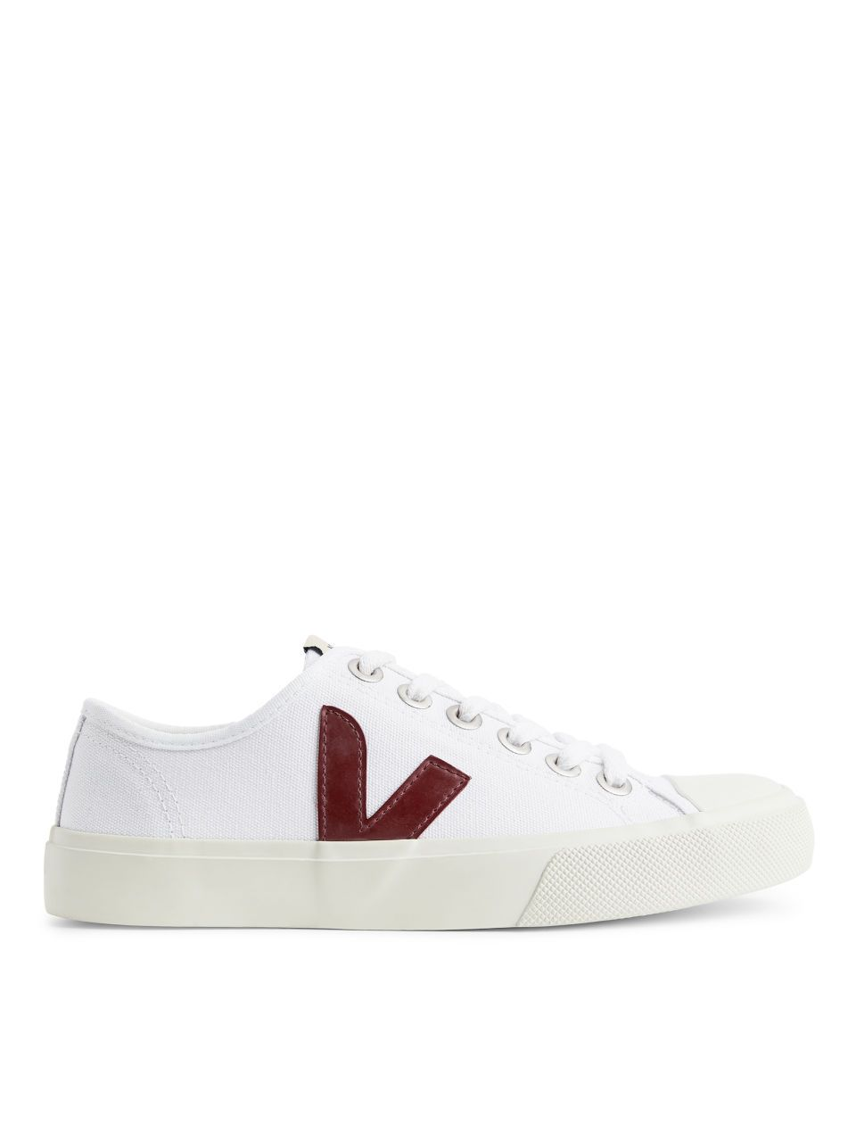 Veja Wata Trainers - White/Dusty Pink