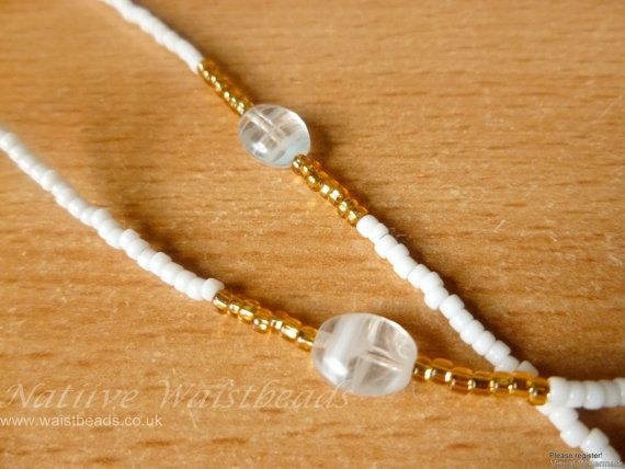 So Simple Waist beads Body Jewellery by NatiiveWaistbeads on Etsy