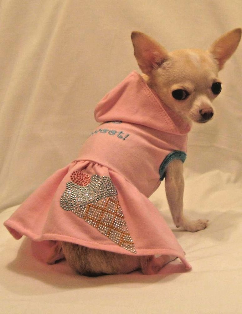 New Platinum Puppy Couture Designer Dog Clothes So Sweet Pink Ice