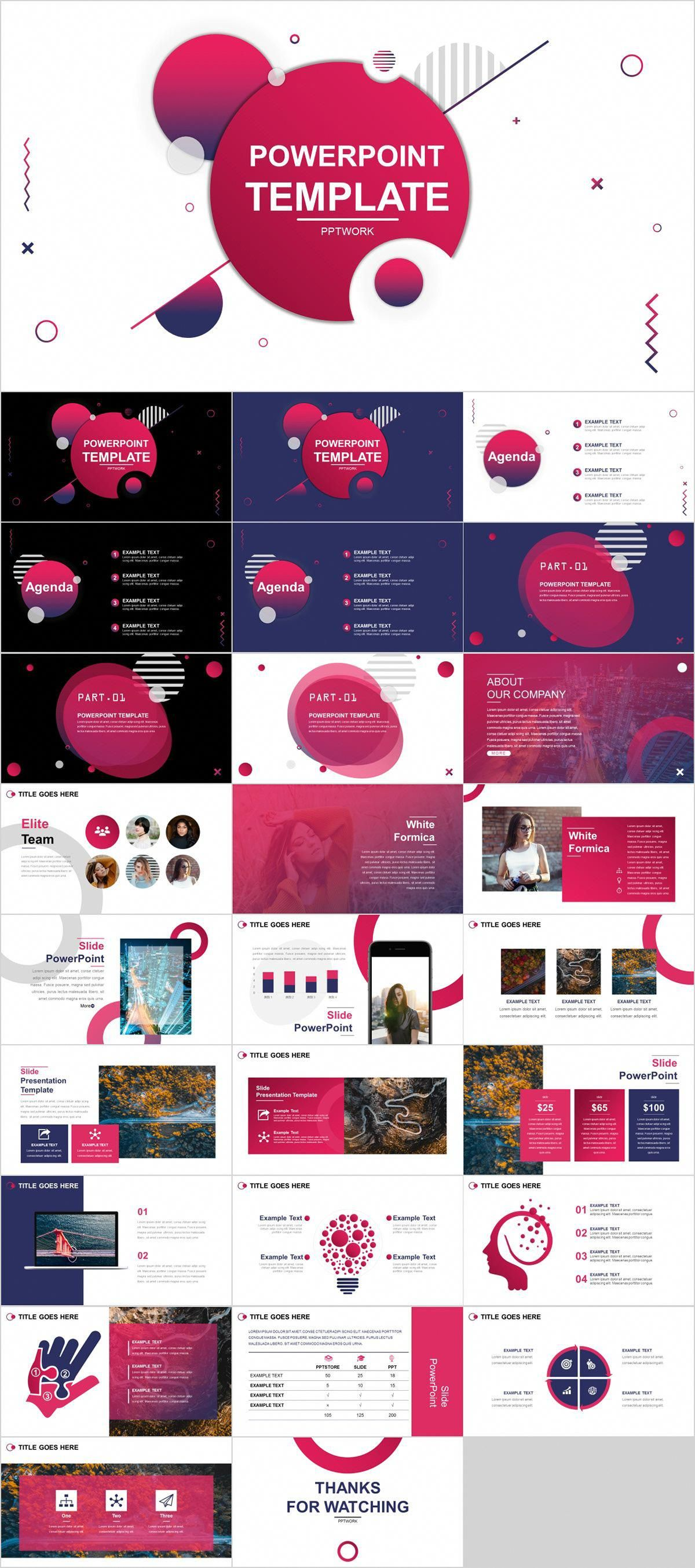 24 Absolutely Free Powerpoint Template In Ppt Poster