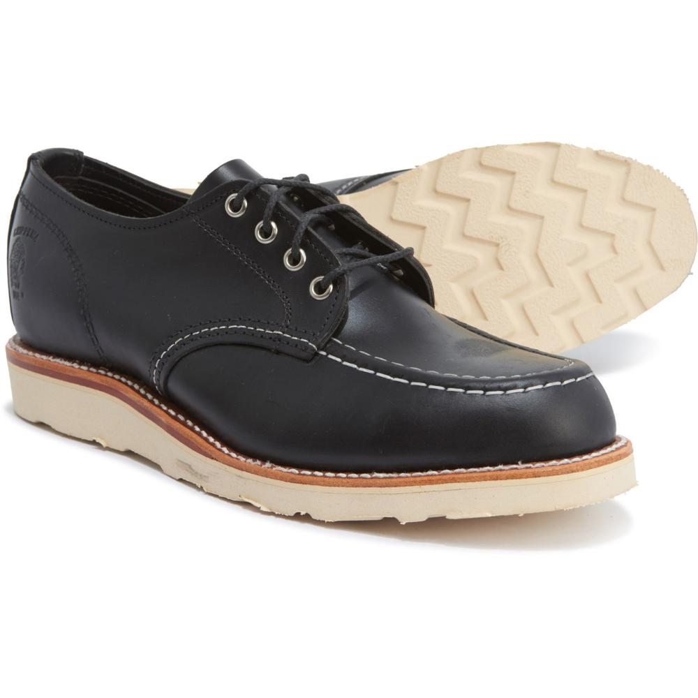 Chippewa Moc-Toe Leather Oxford Shoes