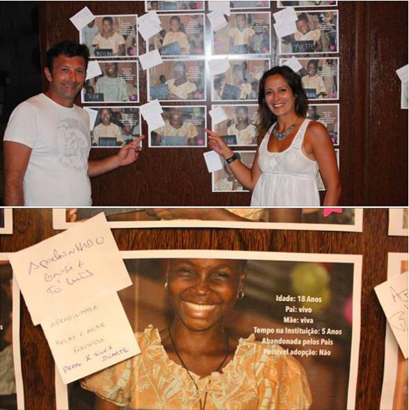 """Esta foi a rapariga que decidimos """"apadrinhar"""" no orfanato em Benin. Chama-se Murielle, tem 18 anos, está na instituição à 5 anos e foi abandonada pelos seus pais. Murielle é uma espécie de mãe para as restantes 61 crianças deste orfanato.  Ajudar uma criança no Benin, custa 0,55€ por dia...é menos do que 1 café.  Não há desculpas para não ajudar!! http://ow.ly/i/77G0f"""