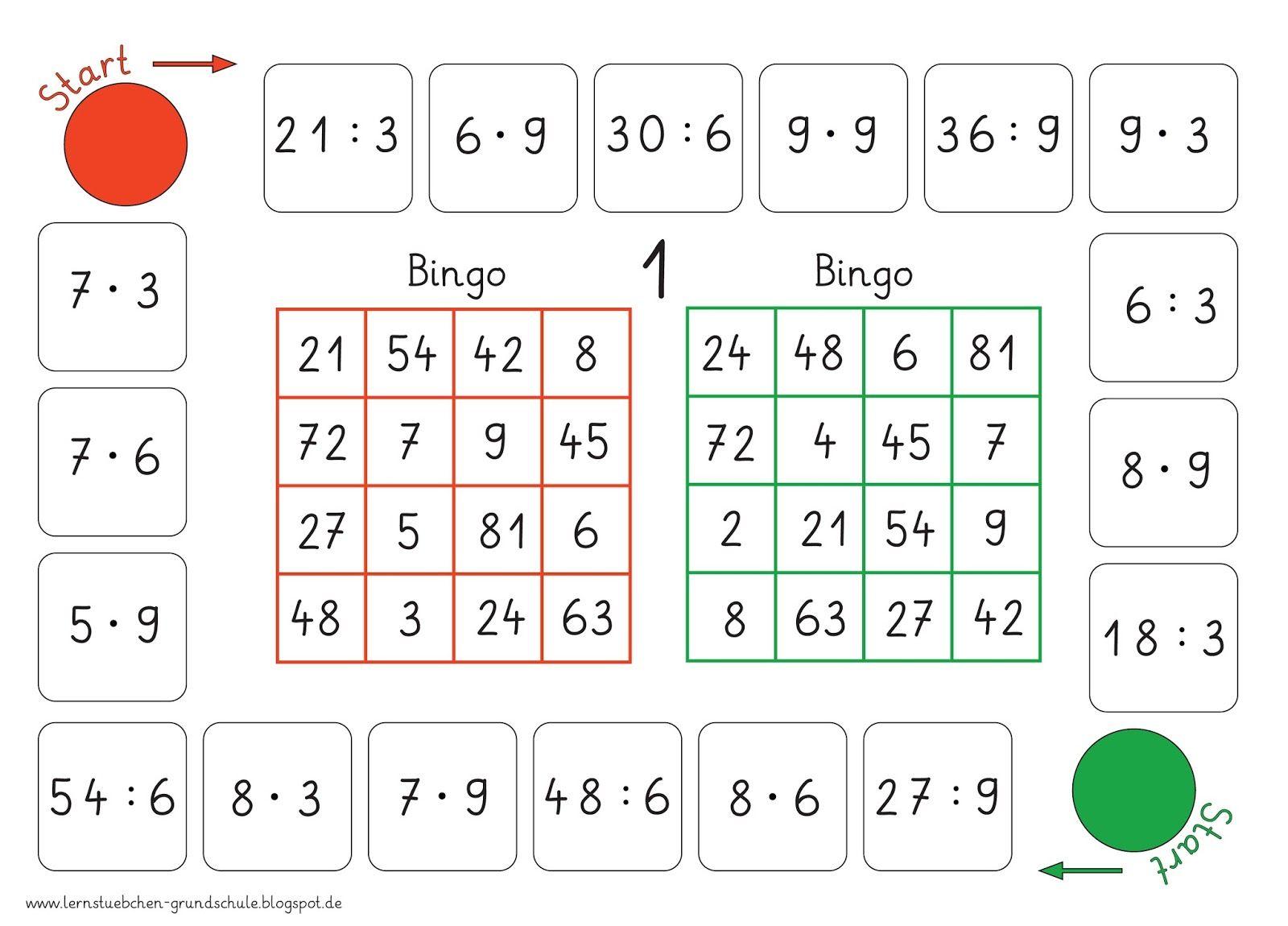 Bingo Multiplizieren Und Divi Ren