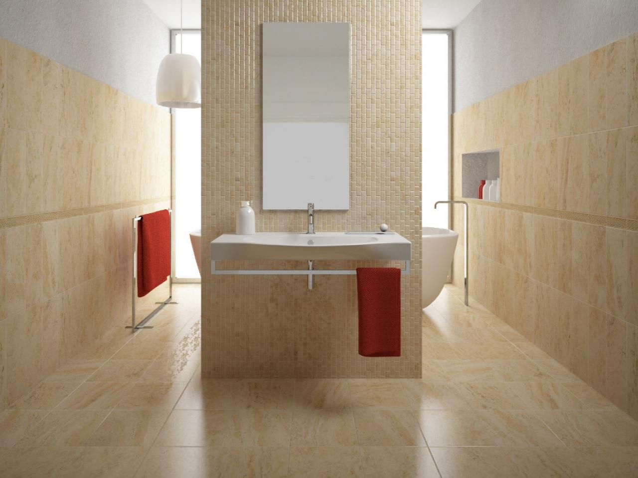 Porcelain Tile Bathroom Floors Beauty Porcelain Tiles and New Life