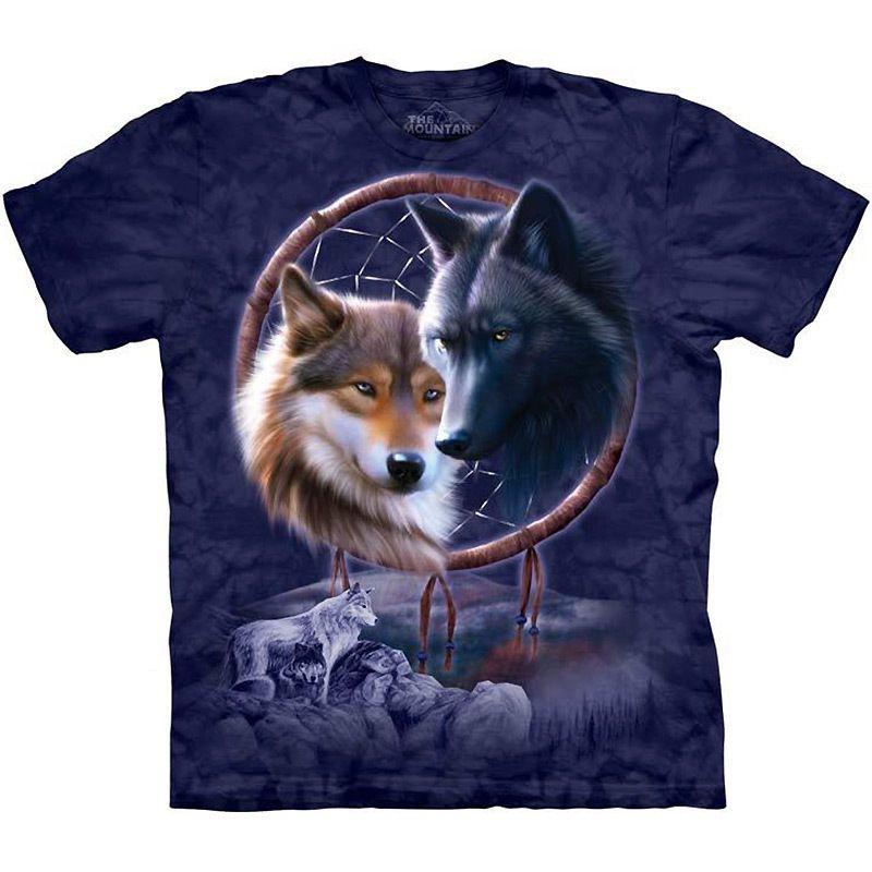 "/""Wolf Heart/"" The Mountain Classic T-Shirt 5X S"