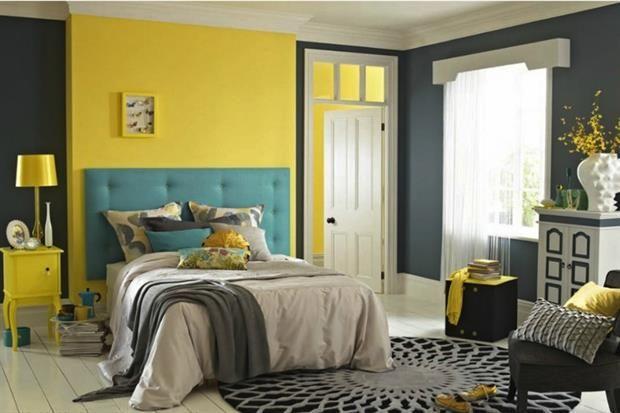 Dormitorios En Amarillo Ideas Para Un Cuarto Luminoso Decoracion De Interiores Dormitorios Decoracion De Interiores Living