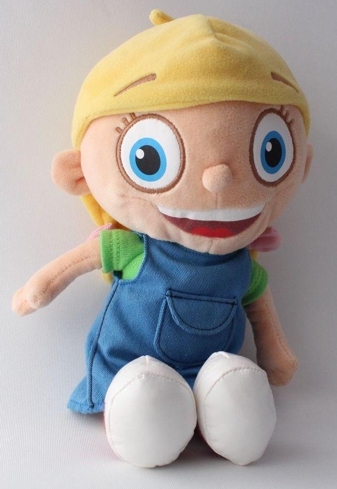Little Einsteins Annie Plush Blonde Girl Doll 12 Quot Disney