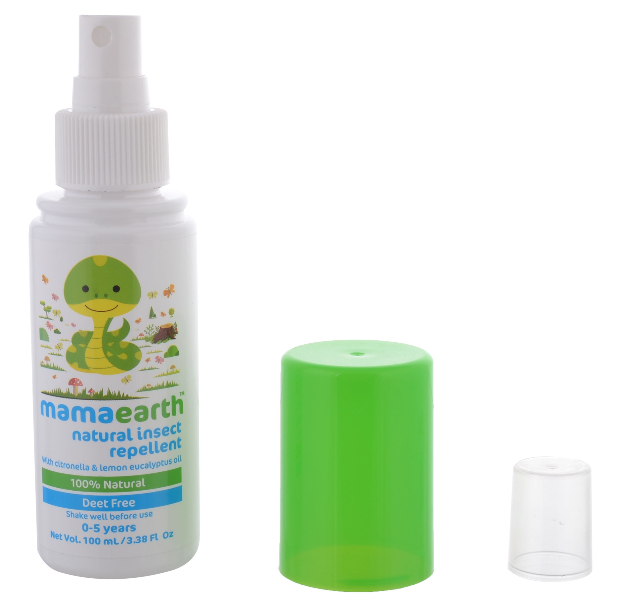 Natural Mosquito Repellent Spray 100ml Baby Massage Baby Skin