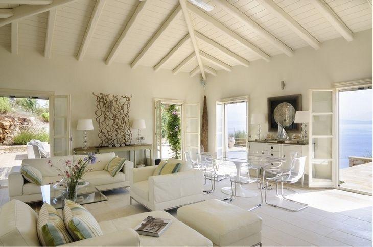 Binnenkijken | Twee Prachtige Griekse Huizen Op Corfu En Santorini U2022  Stijlvol Styling   WoonblogStijlvol Styling