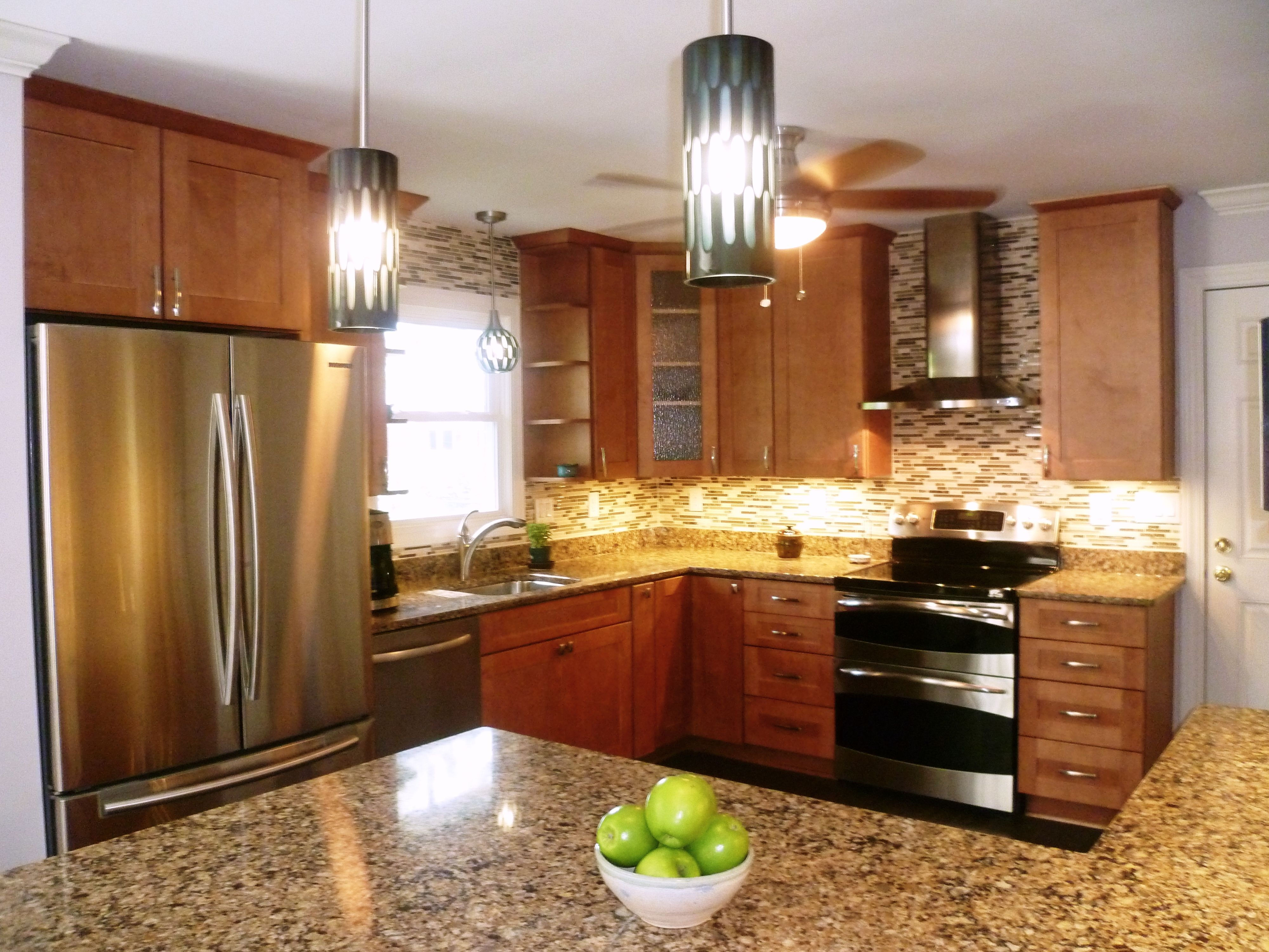 This Trent Woods, NC kitchen remodel included Marsh ...