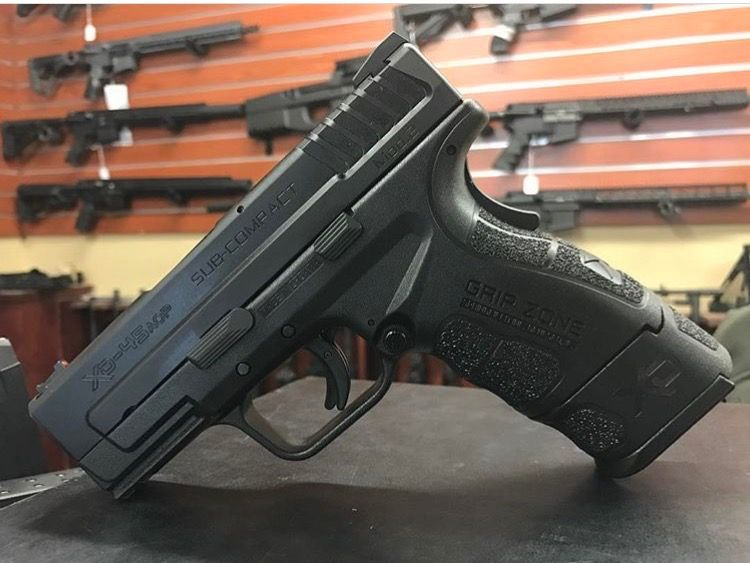 Springfield Armory XD-45 sub-compact in stock with Springfield