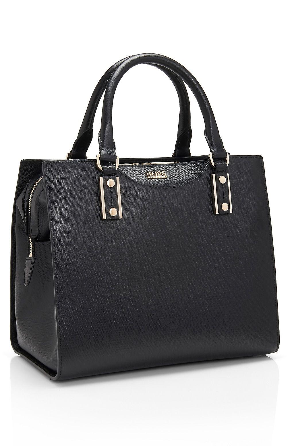Hugo Boss Maika Textured Leather Handbag Types Of Handbags Ny