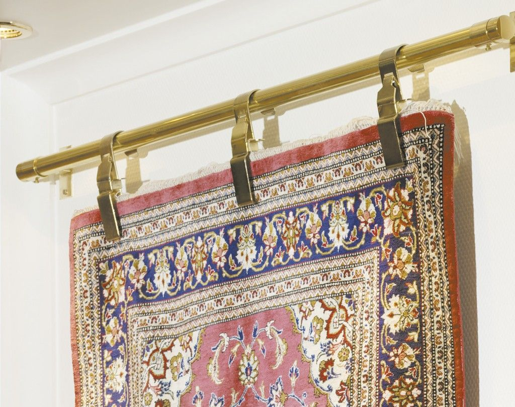 5 Ways To Hang An Oriental Rug Without Damaging It I