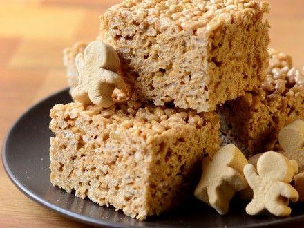 Gingerbread Rice Krispy Squares | Baking Bites