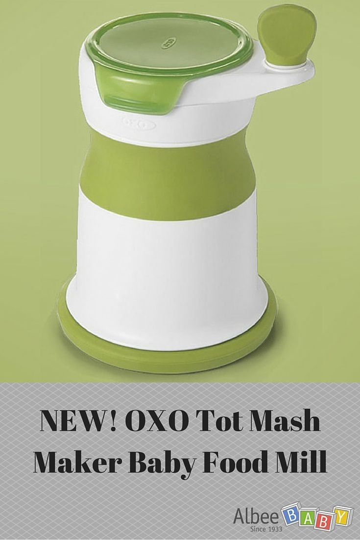 Oxo Mash Maker Baby Food Mill Baby Food Recipes Baby