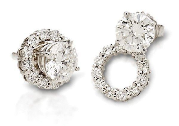 Fresh Diamond Earring Jackets For Studs Check More At Http Lascrer