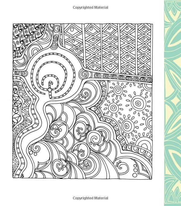 Color Me Stress Free Nearly 100 Coloring Templates To Unplug And Unwind A Zen Book Lacy Mucklow Angela Porter 9781631061608 Amazon
