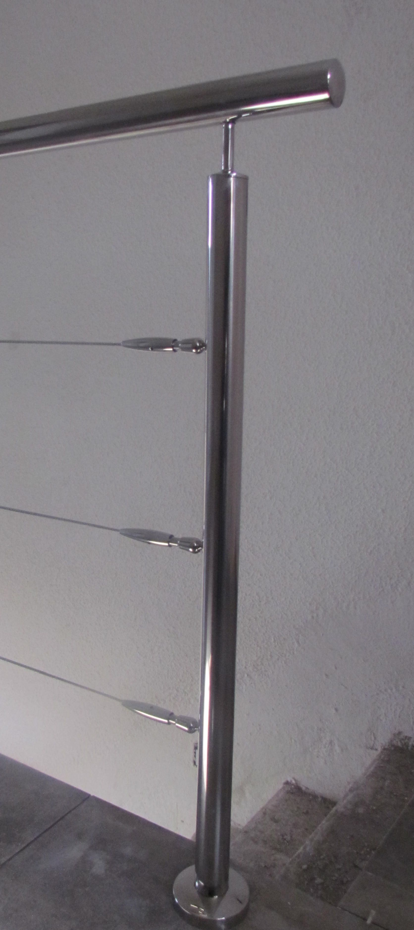 Barandas acero inoxidable ideas para el hogar baran - Figuras de acero inoxidable ...