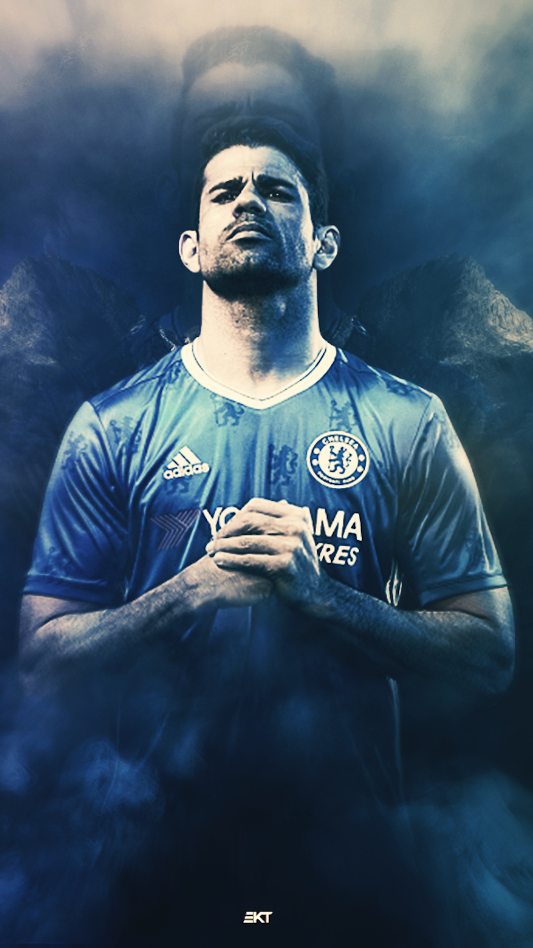 Diego Costa Chelsea iPhone Wallpaper. Media file