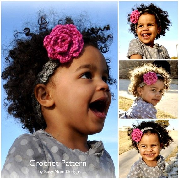 CROCHET Headband PATTERN - \