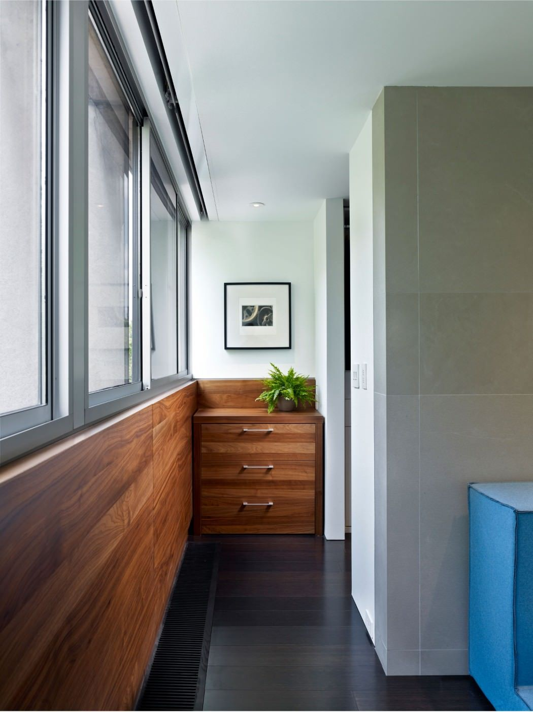 Hallway furniture from poland  Society Hill Townhouse by k YODER design  Townhouse Interiors and
