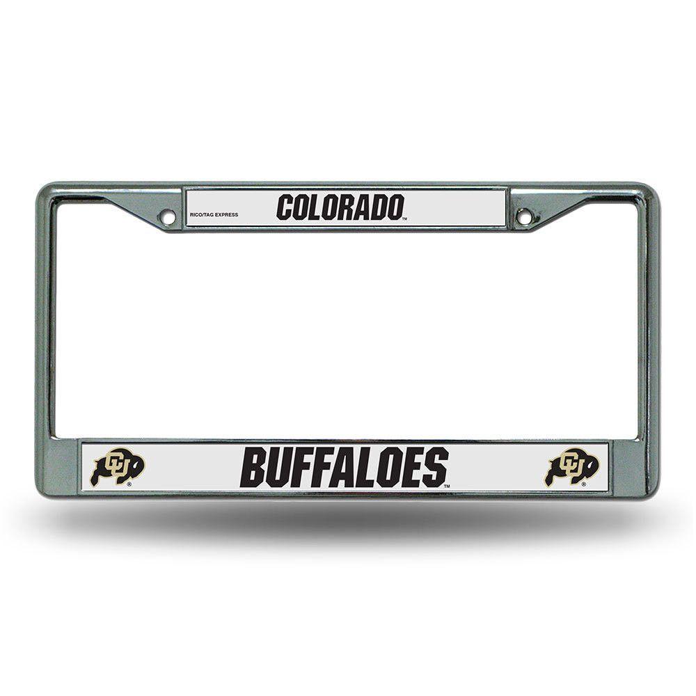 Colorado Golden Buffaloes NCAA Chrome License Plate Frame