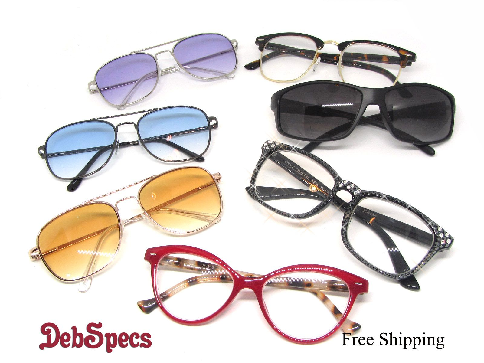 1cda3d48baa Keep cool this summer with cool DebSpecs reading glass styles.   readingGlasses  trendyReaderStyles  tintedUVReaders  purpleReadingGlasses  ...