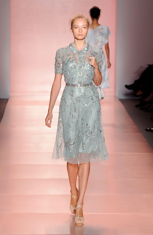 2011 Spring New York Fashion Week: Jenny Packham | Pinterest ...