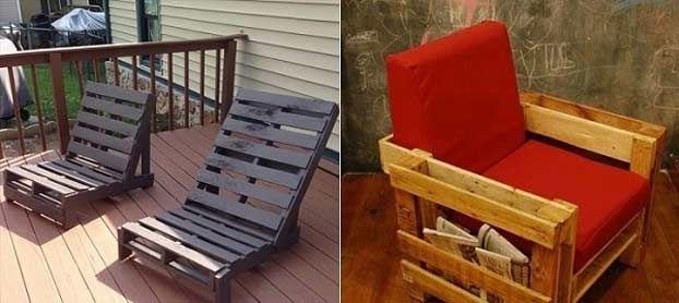 Sedie pallet legno1 arredi pinterest pallet sedie e for Sedie cucina legno colorate
