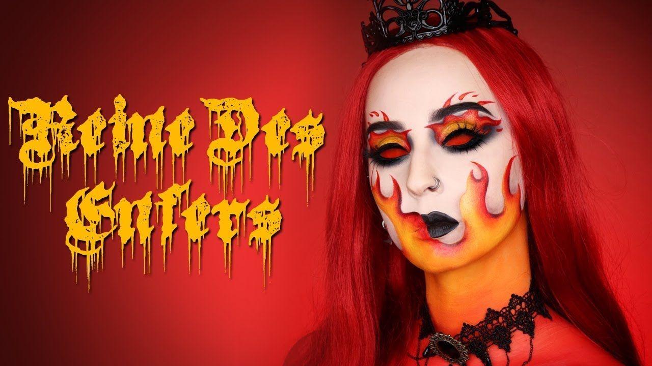 Reine Des Enfers Maquillage Halloween Maquillage Halloween Tutoriel De Maquillage Goth Maquillage