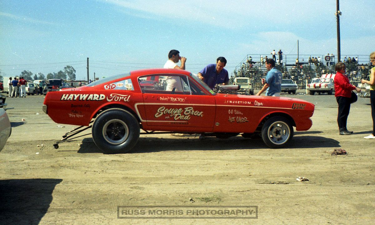 Photos of souza dad mustang drag car history fremont dragstrip today oct 2009