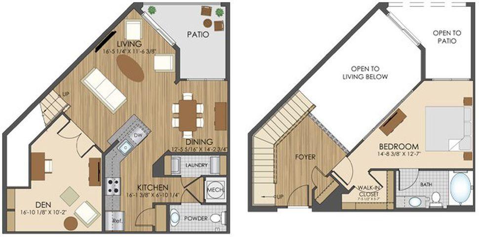 Hidden Creek Apartment Homes Apartments In Gaithersburg Md Grundrisse Pinterest