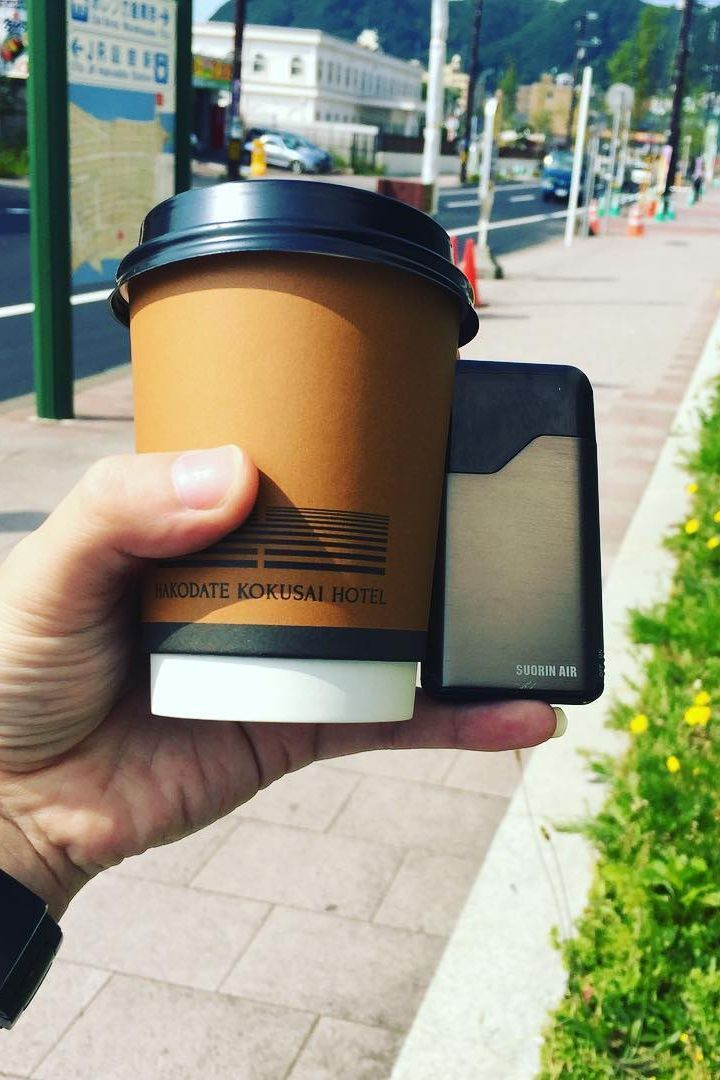 Coffee and the Suorin Air a very happy marriage. Air