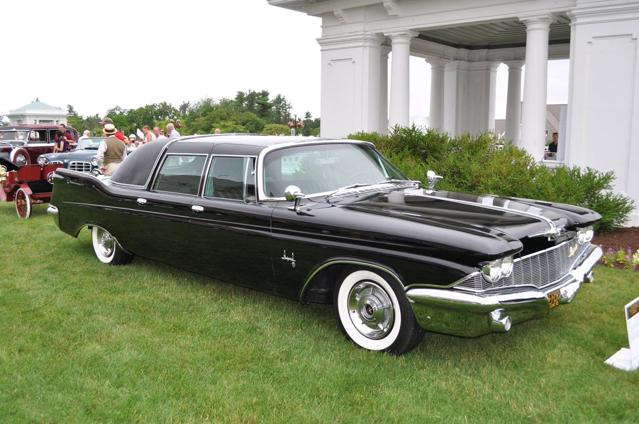 Nelson Rockefeller S 1960 Imperial Crown Limousine Ghia