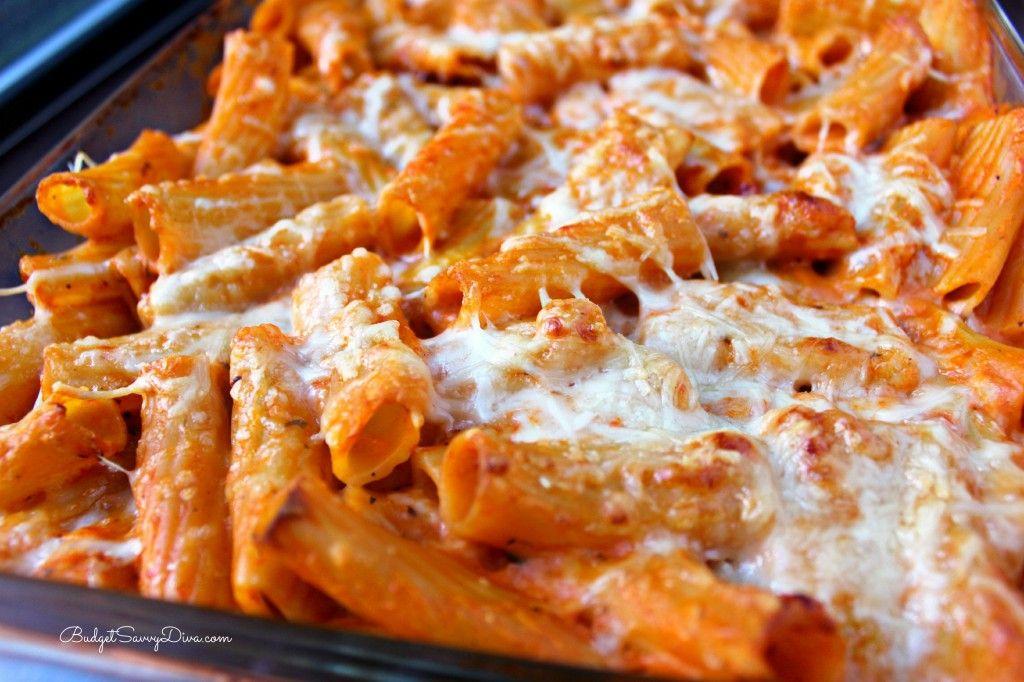 Olive Garden FiveCheese Ziti Al Forno Recipe Food