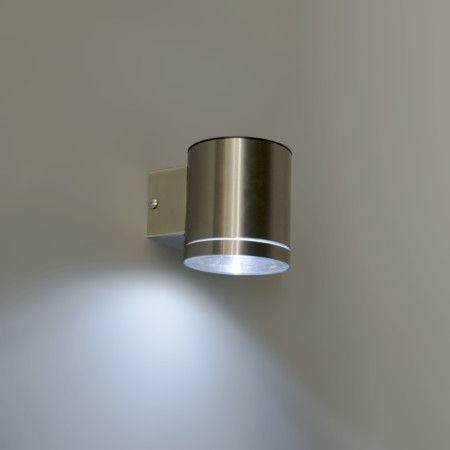 Aplique De Exterior Eta Led Solar Lampara De Pared Luz Led Iluminacion Solar