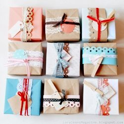 gift wrapping!