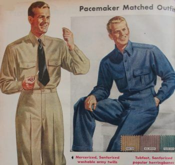 Men S Vintage Workwear Inspired Clothing Mens Work Outfits 1940s Mens Fashion Mens Workwear