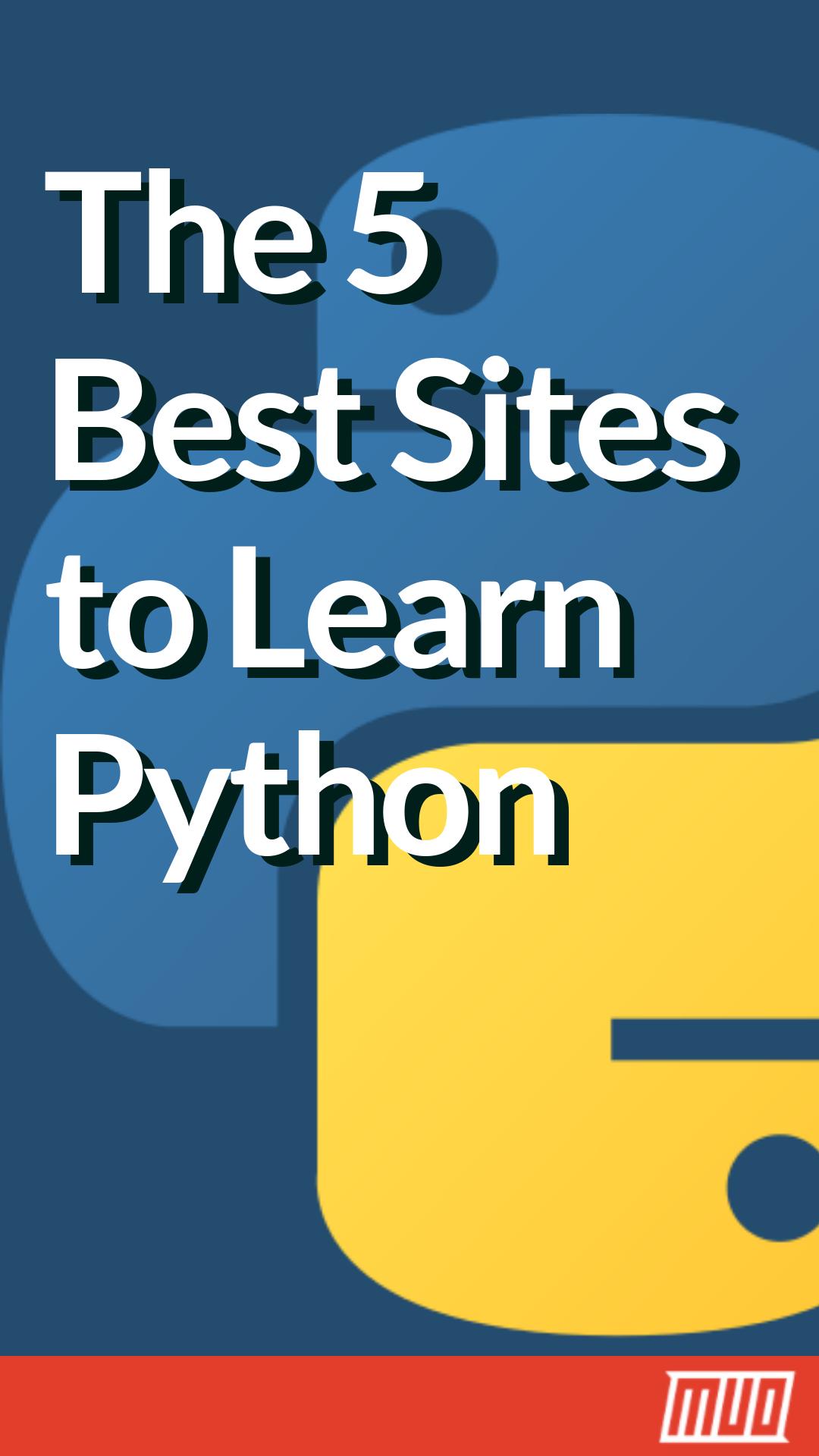 Die 5 besten Websites zum Erlernen der Python-Programmierung