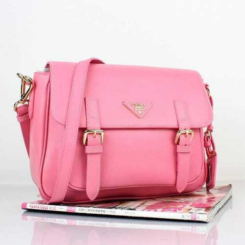 Pink Prada Bag | via Tumblr