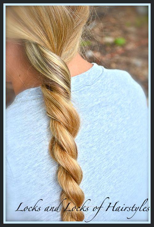 Locks and Locks of Hairstyles: Braids Super simple, & super cute ...